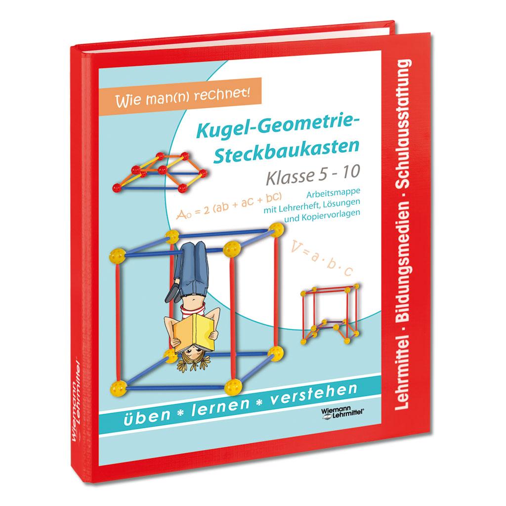 Lehrerarbeitsmappe mit Lösungen - Kugel-Geometrie-Steckbaukasten