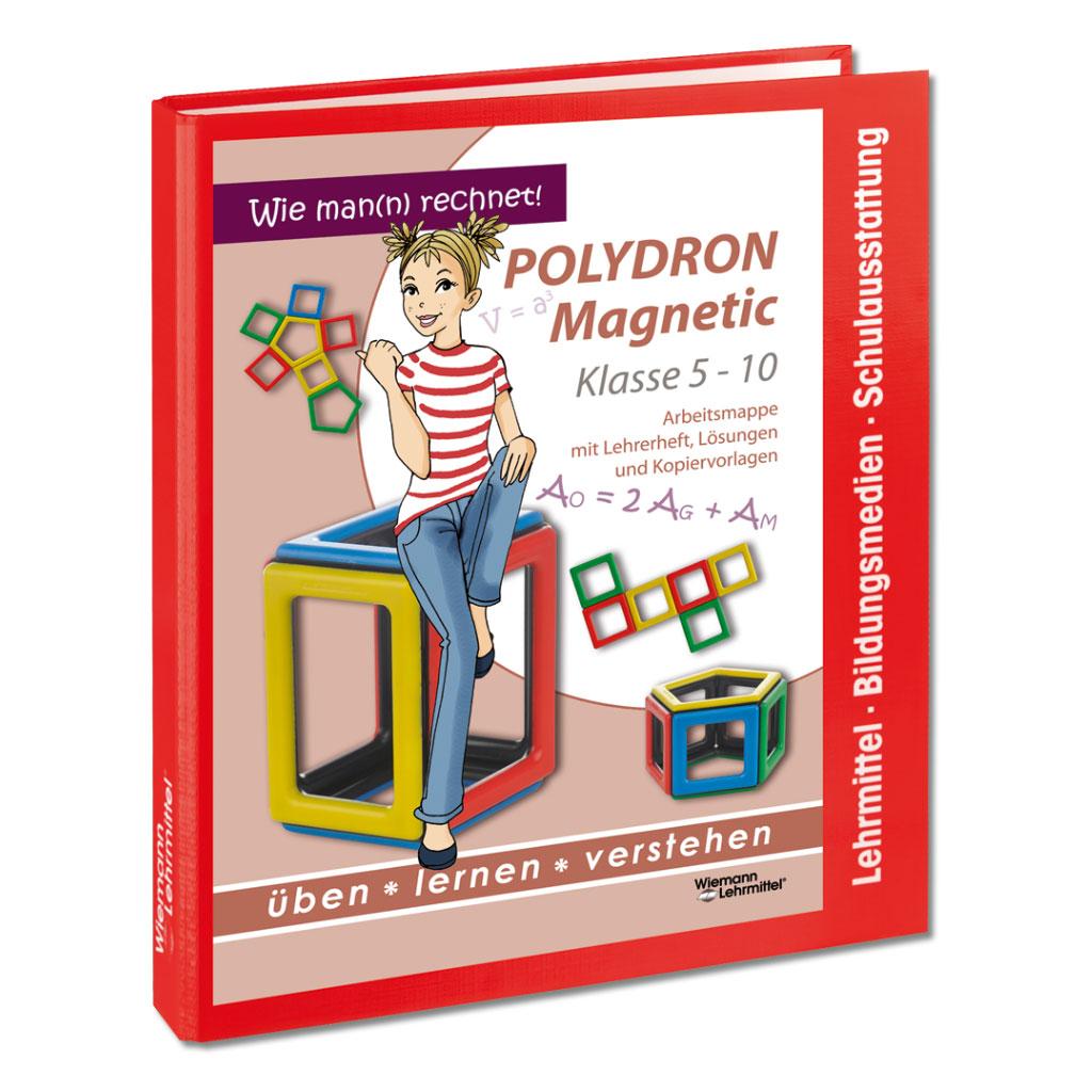 """Arbeitsmappe """"Aufgaben zu den Polydron-Magnetic-Bauteilen"""""""