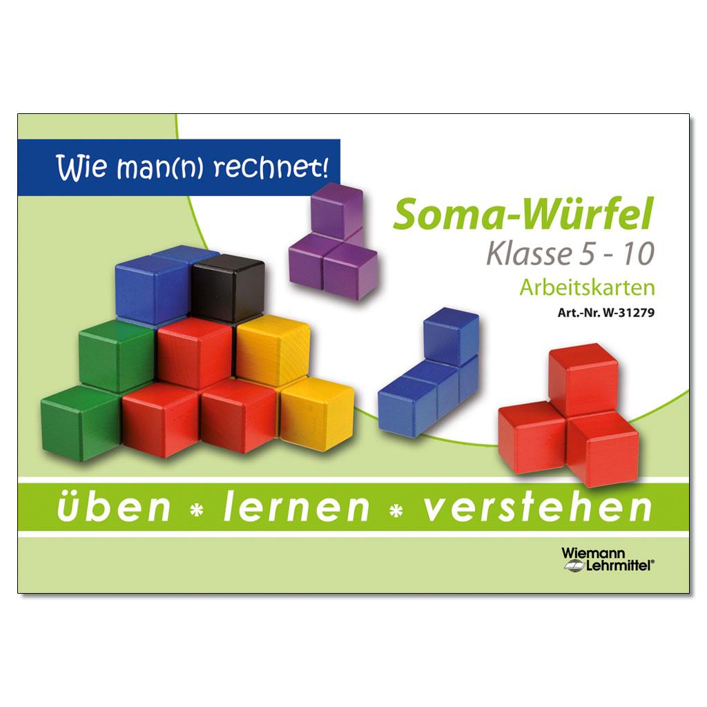 Arbeitskarten - Somawürfel