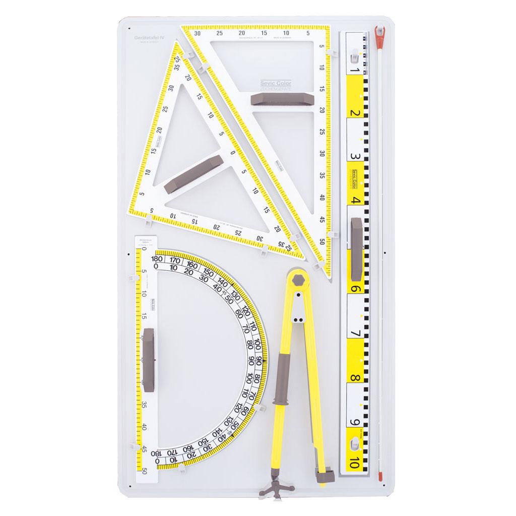 Geräteplatte D - für die Wandtafel