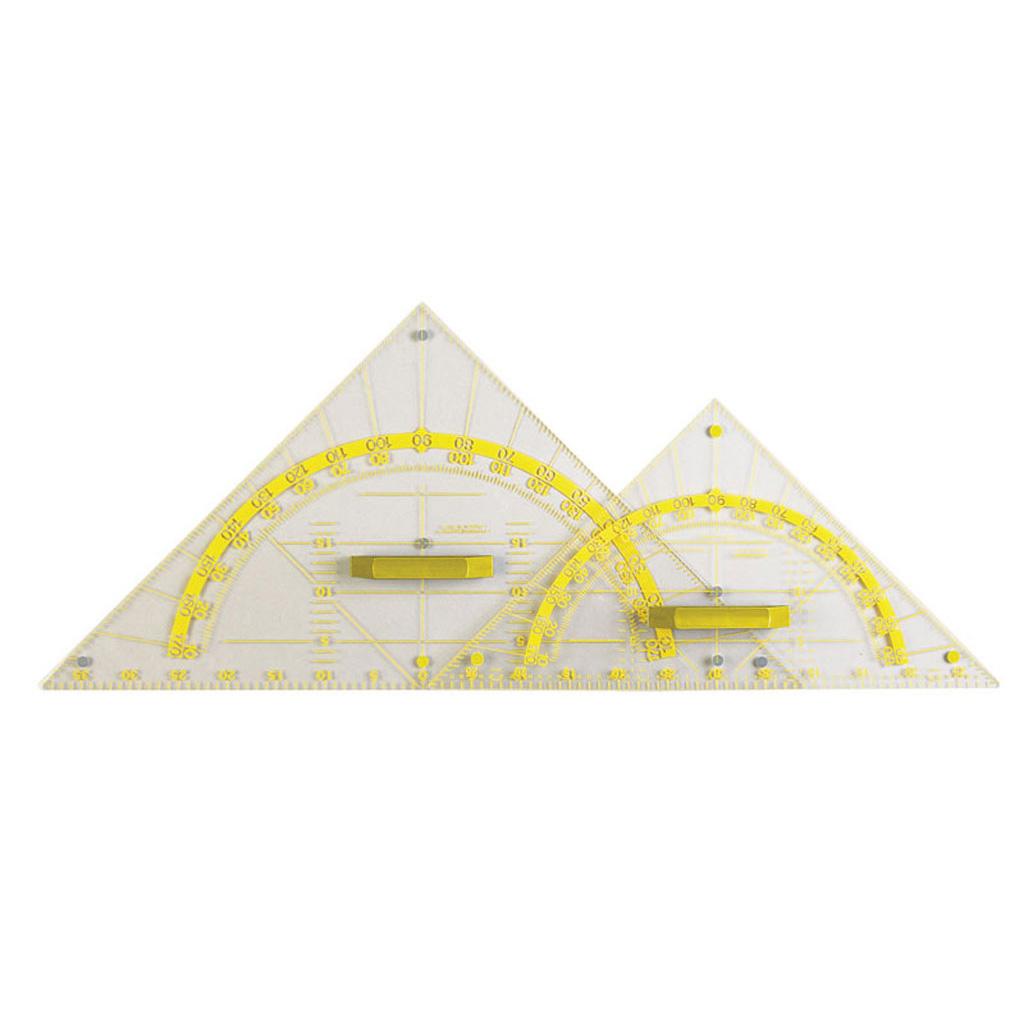 Geometrie-Zeichendreieck - Hypotenuse 80 cm