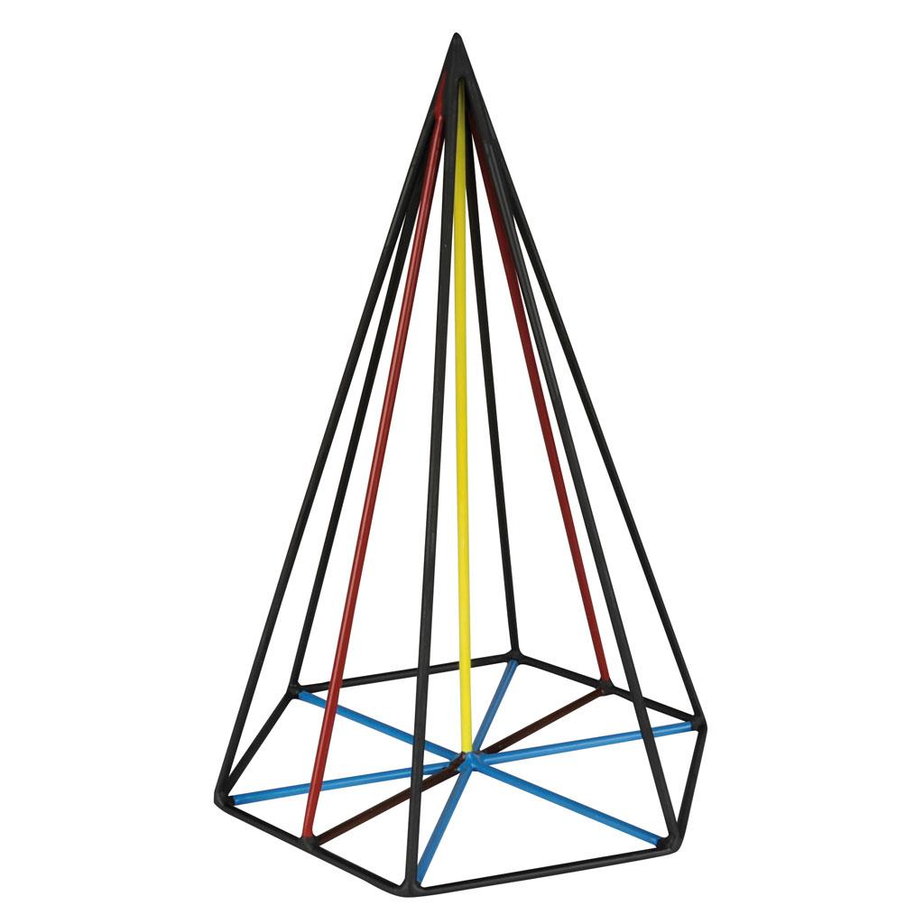 Pyramide Stahlmodell online bei Wiemann-Lehrmittel bestellen