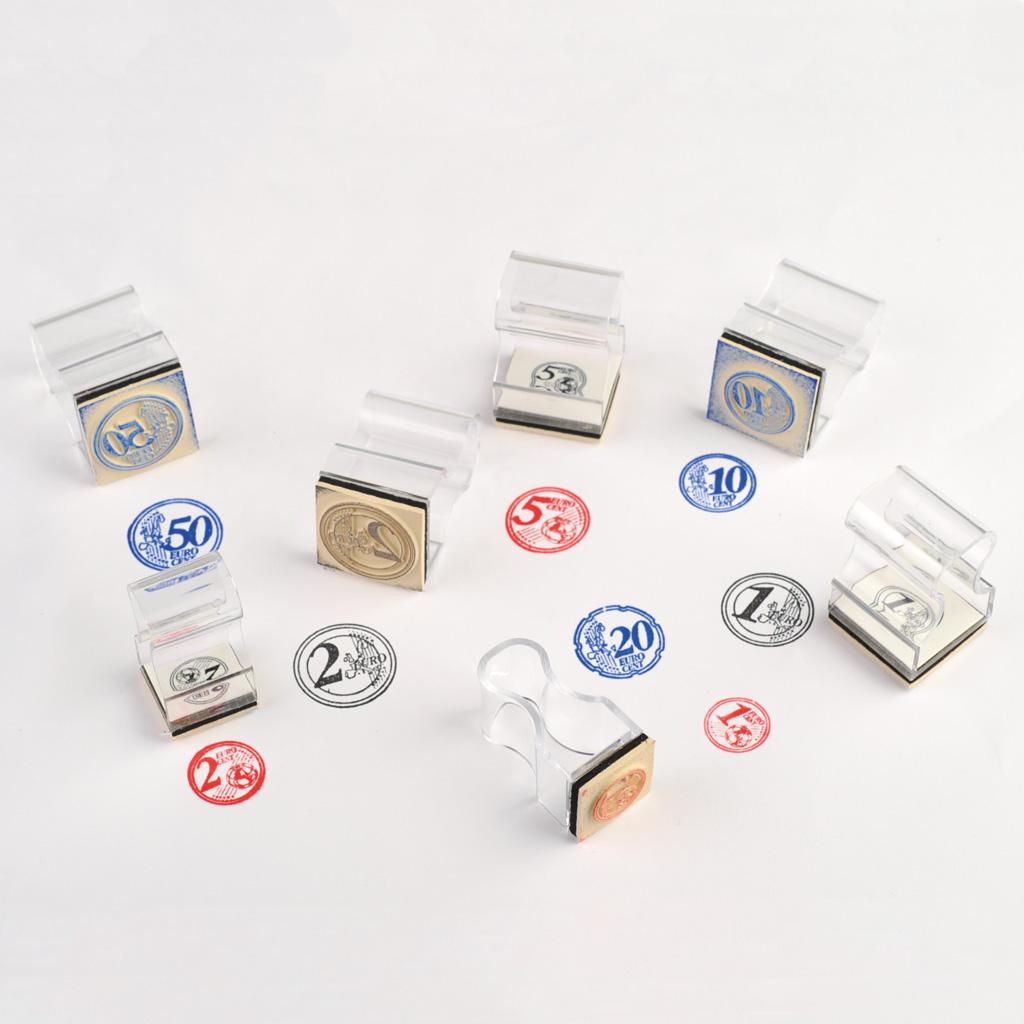 Euro-Stempelsatz Münzen