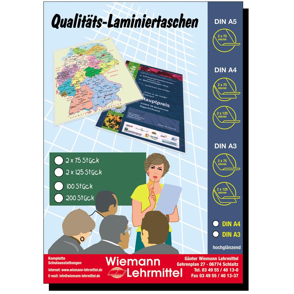Qualitäts-Laminier-Taschen A3