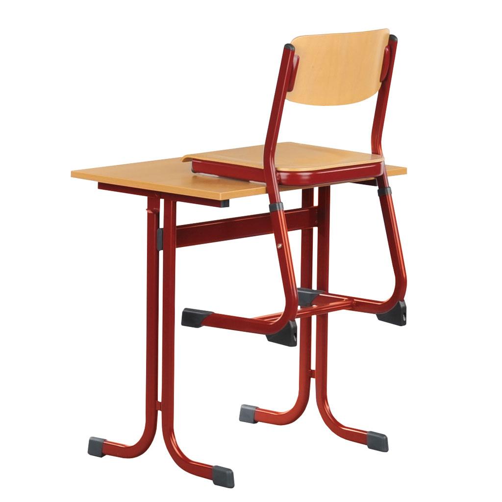 einer sch lertisch modell cmth mit pu kanten w 42618. Black Bedroom Furniture Sets. Home Design Ideas