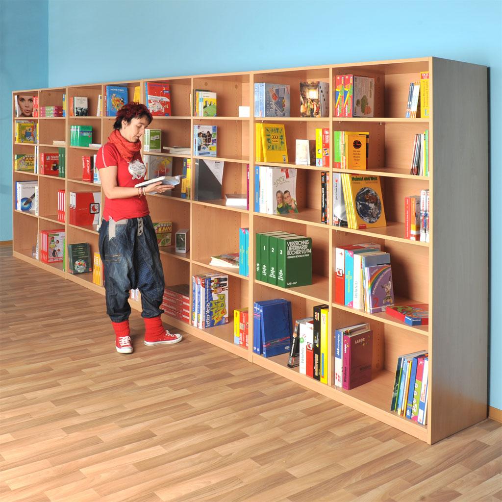 "Modulus Schrankwand ""Berlin"" - Bibliothek"