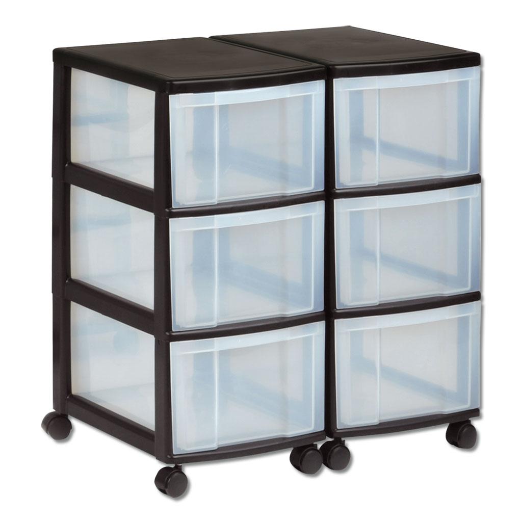 Schubladen-Rollschrank aus Kunststoff