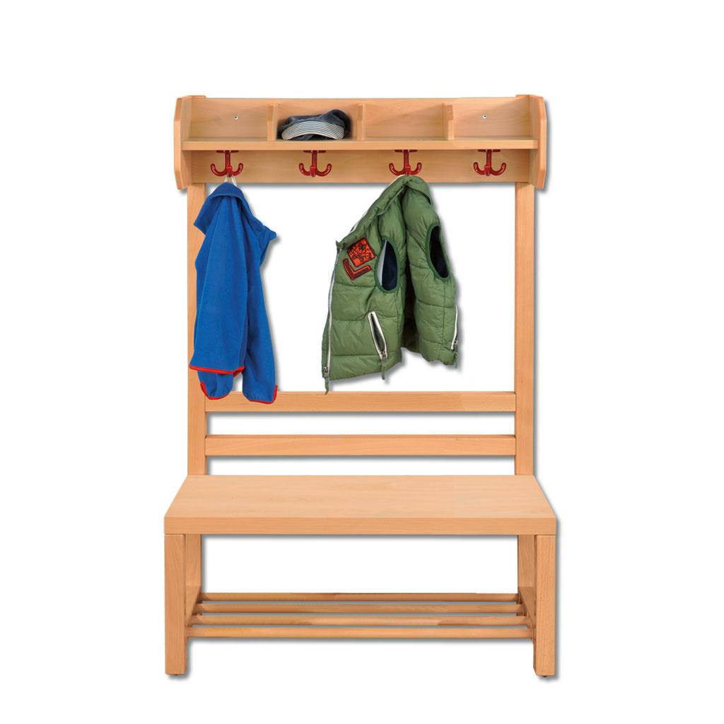 riesenauswahl an garderobenbänken für die kita im wl-versand