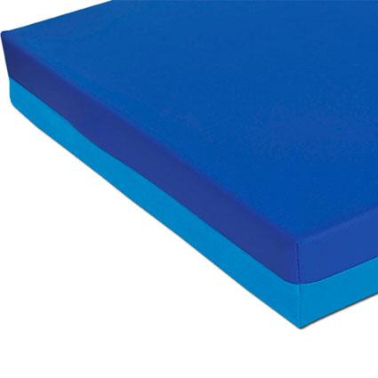 Liegepolster - blau/hellblau