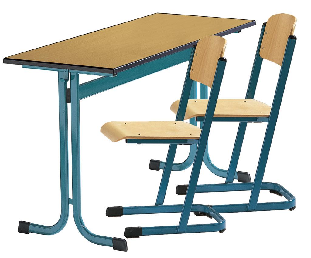 zweier sch lertisch modell mt mit pu kanten w 4419. Black Bedroom Furniture Sets. Home Design Ideas