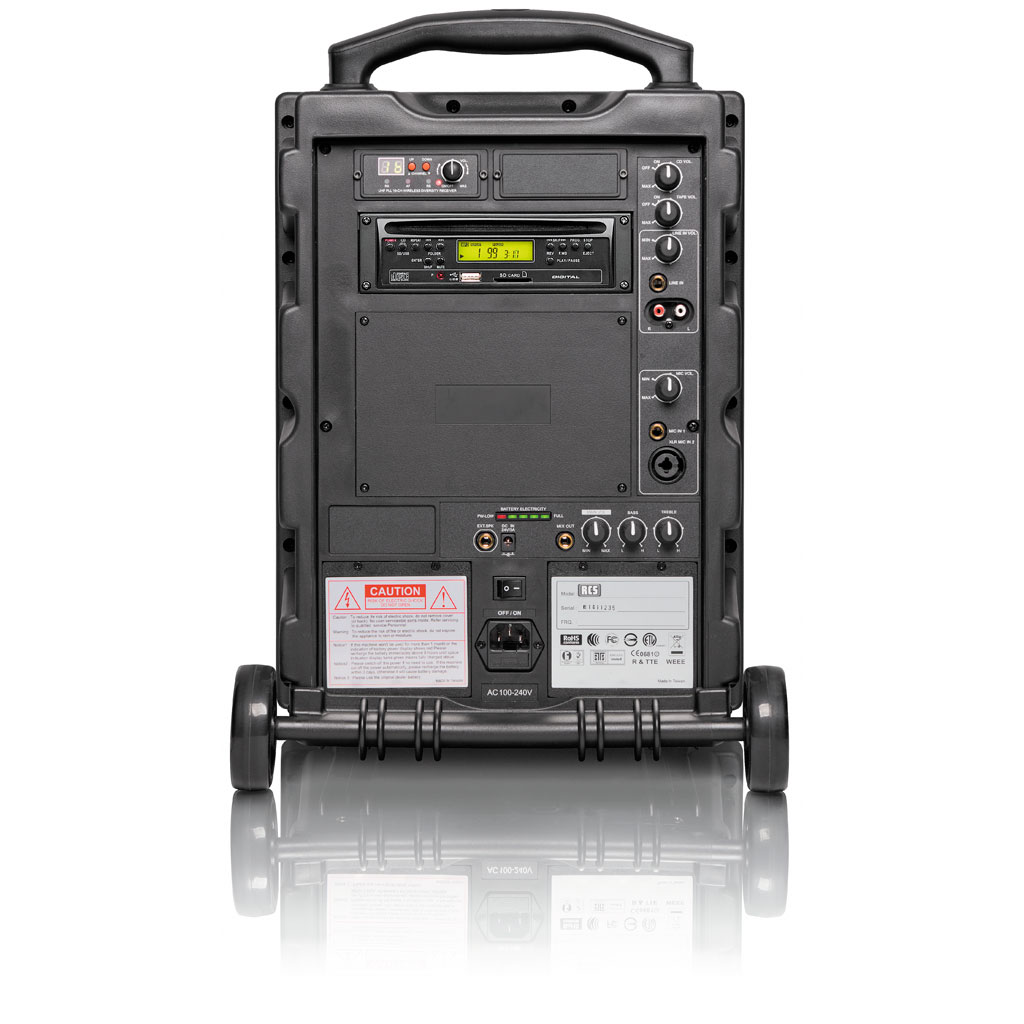 RCS Sound Center SCW 100 Funk - ohne Akku