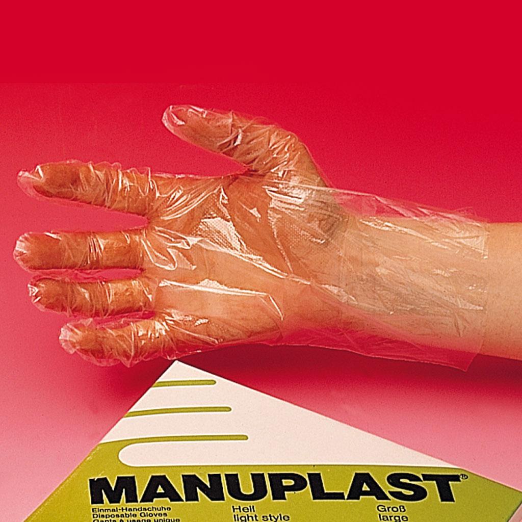 Einmal-Schutzhandschuhe, in 2 Größen lieferbar