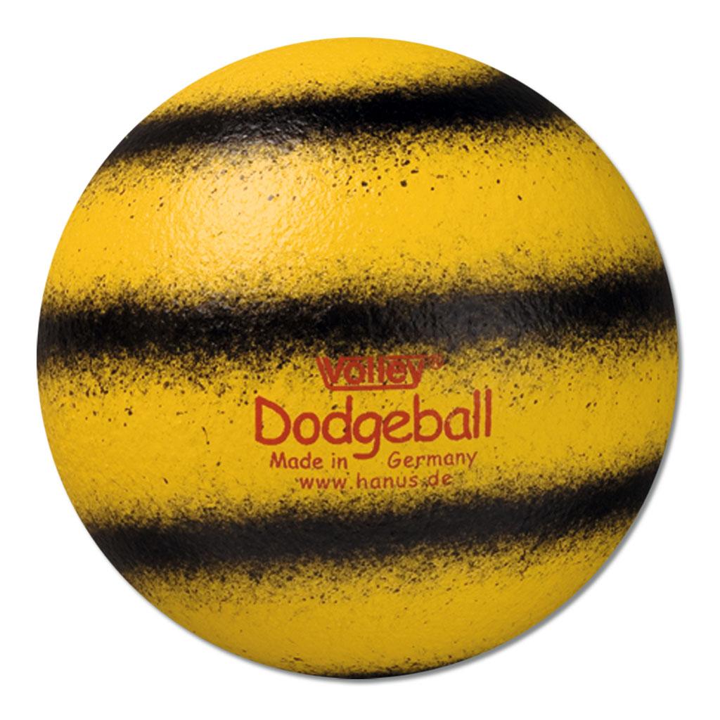 Dodgeball (Völkerball) - VOLLEY® - gelb/schwarz