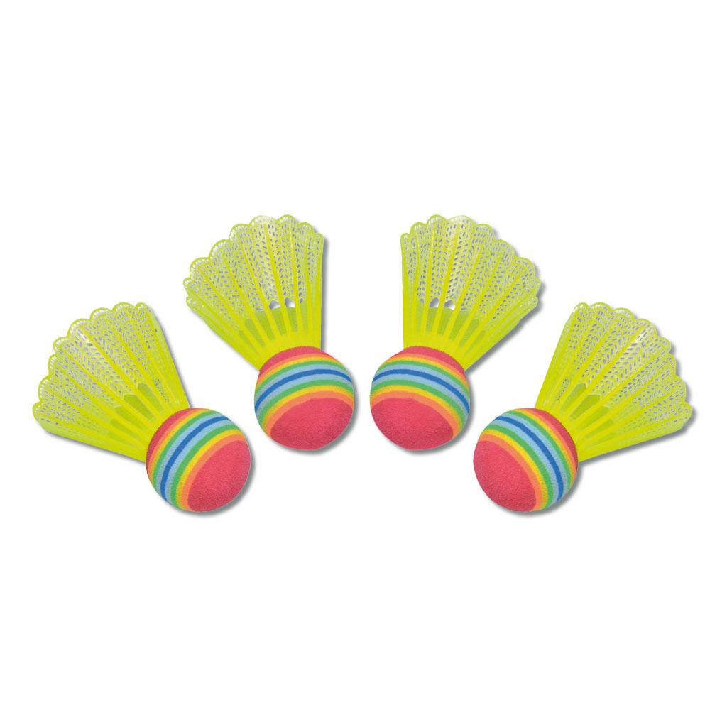 """4 Badmintonbälle """"Fun"""""""