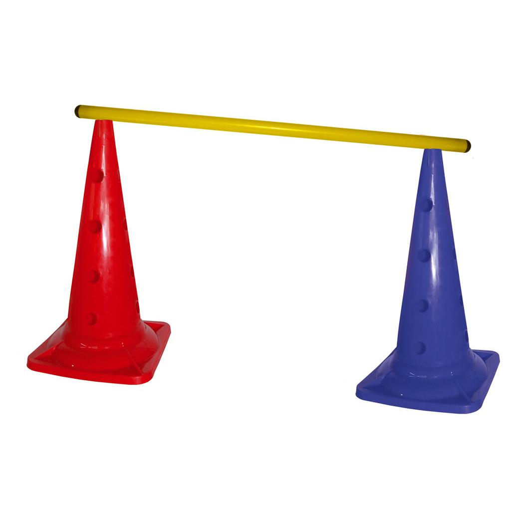 Großer Lochkegel 50 cm - lieferbar in rot oder blau