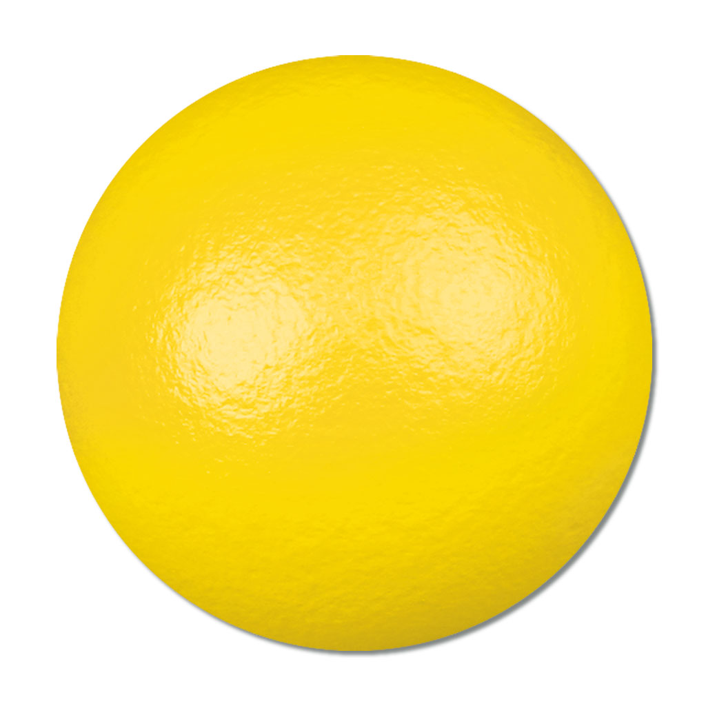 Softball (Gymnastikball) - gelb