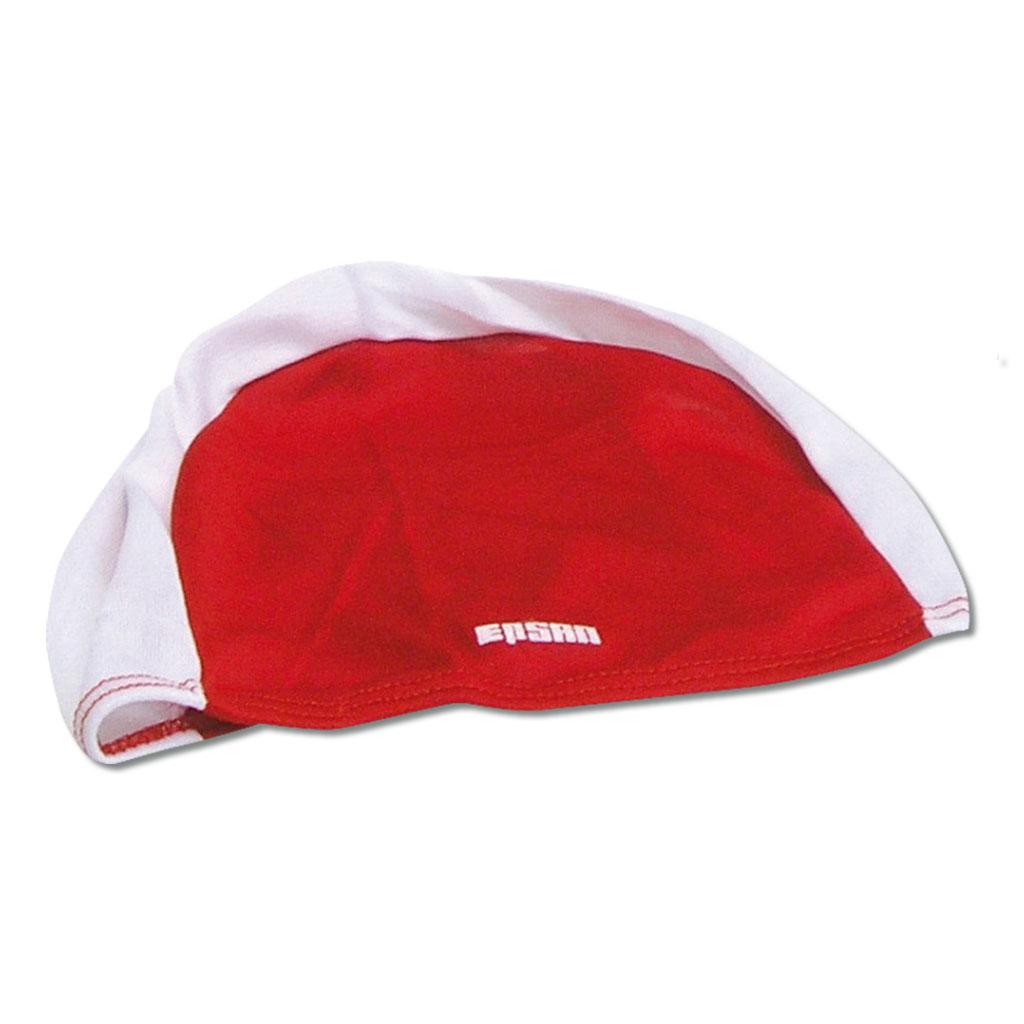 Schwimmkappe - rot/weiß
