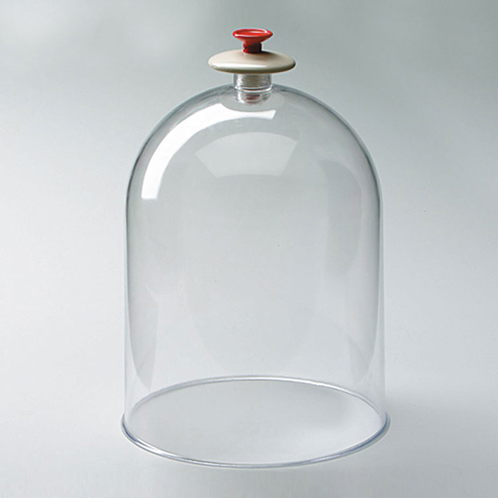 Vakuumglocke, Kunststoff; transparent,