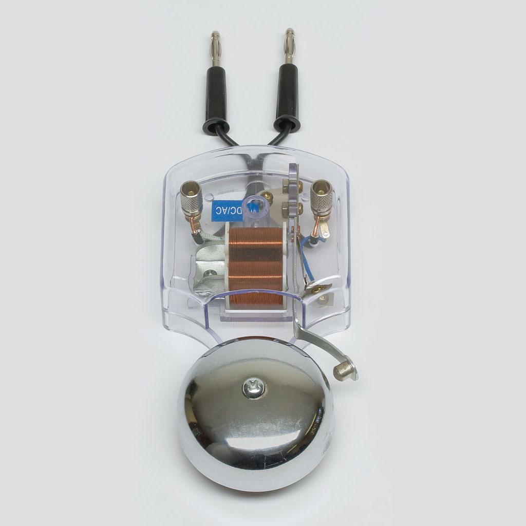 elektrische klingel f r schallversuche im vakuum w 70628