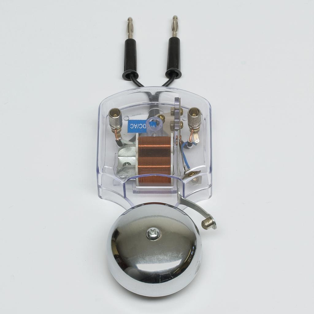 elektrische klingel f r schallversuche im vakuum w 70628. Black Bedroom Furniture Sets. Home Design Ideas