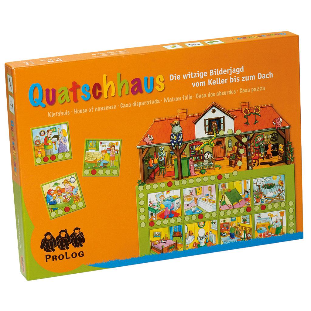 Quatschhaus - Brettspiel