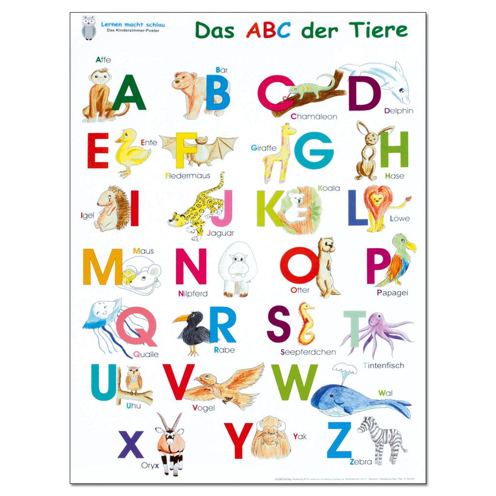 Das ABC der Tiere - Poster