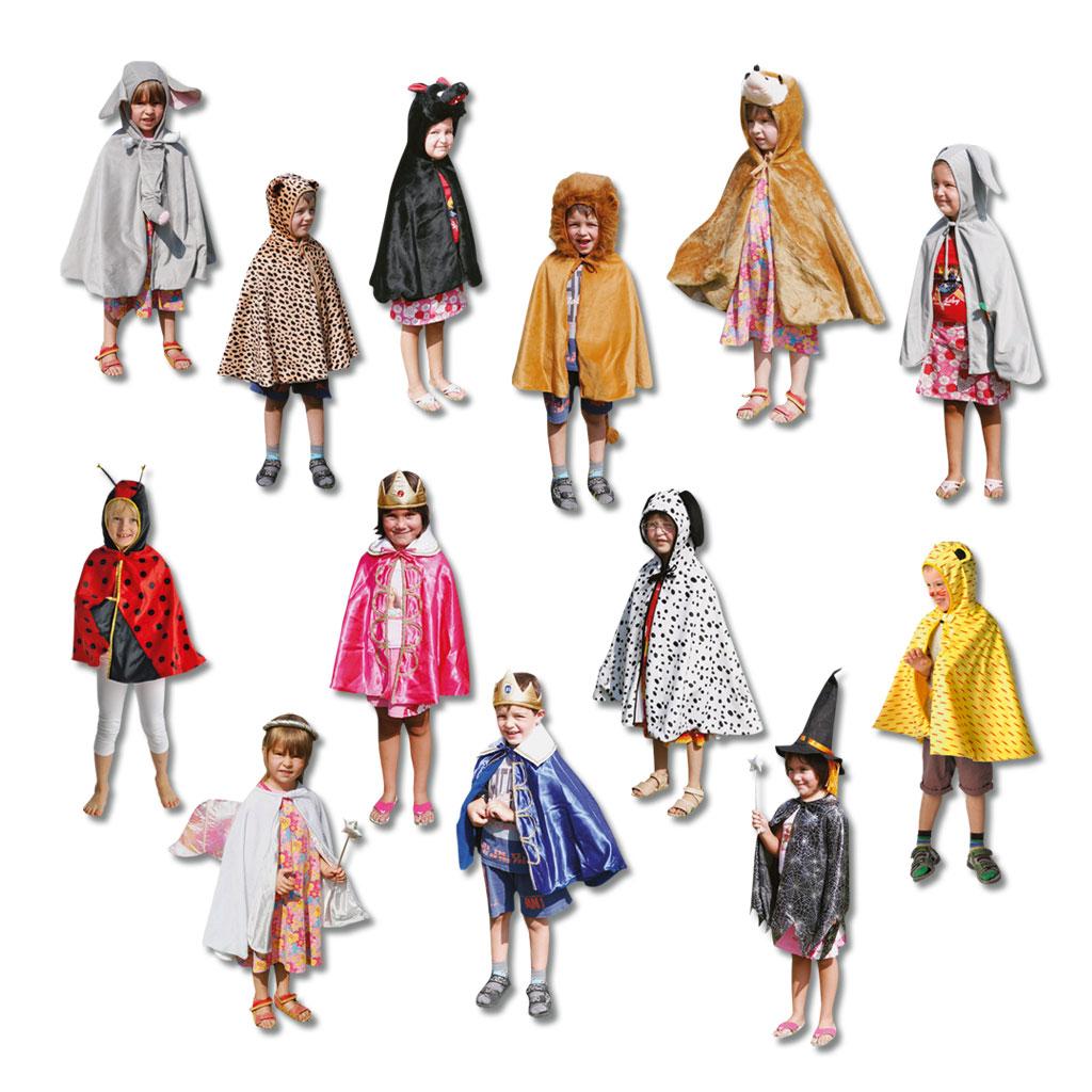13-teiliges Kostüm-Set für Kindergärten