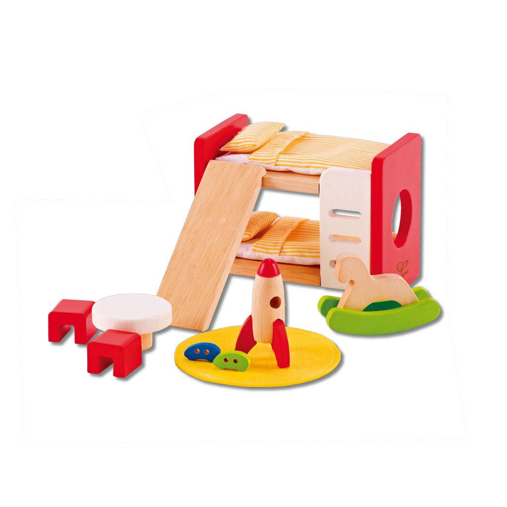 Puppenhausmöbel - Kinderzimmer