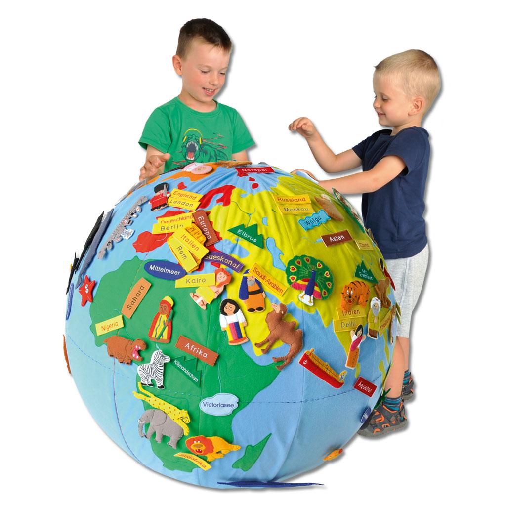 Weltkugel für Kinder