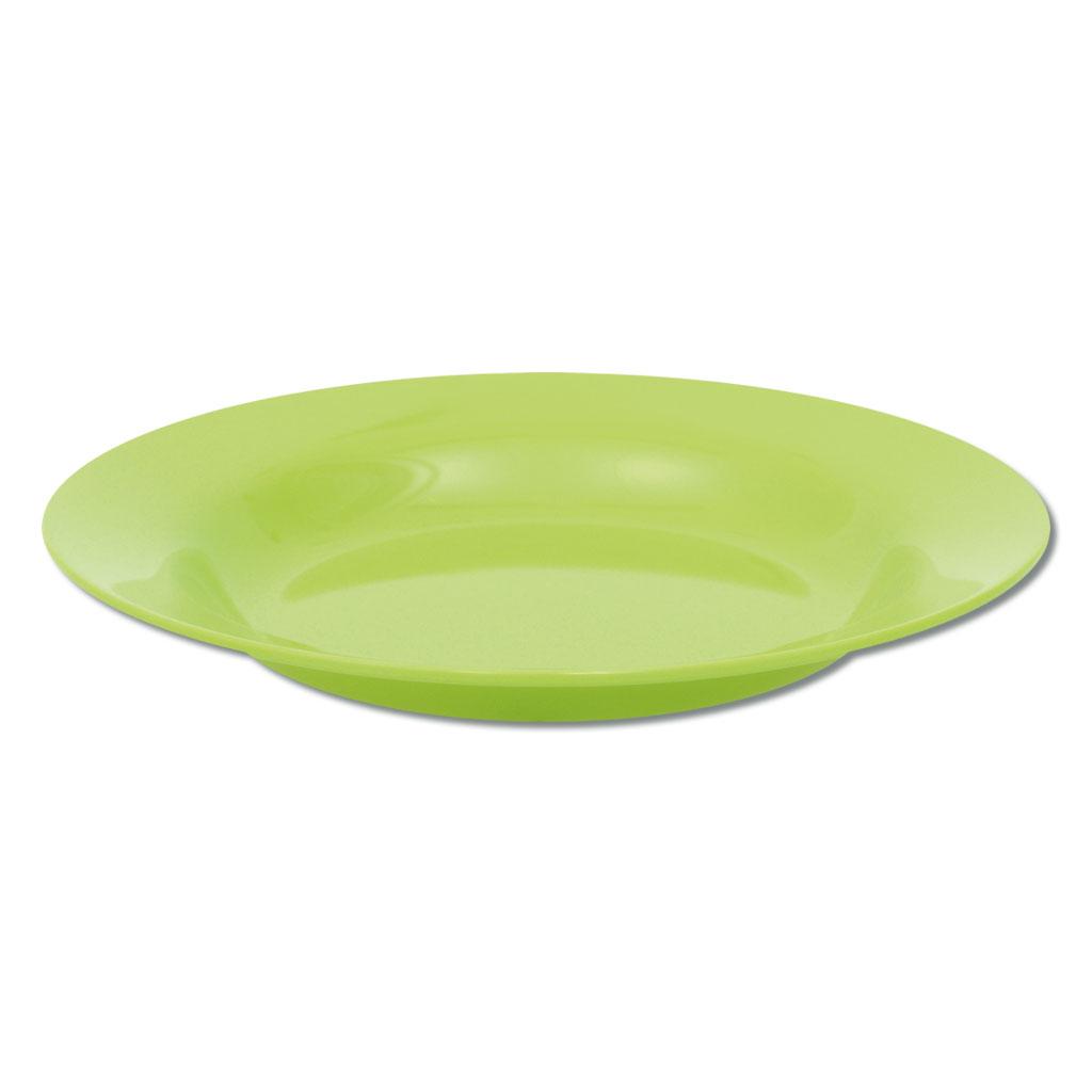 Knirpsengedeck - Teller tief mittel (grün)