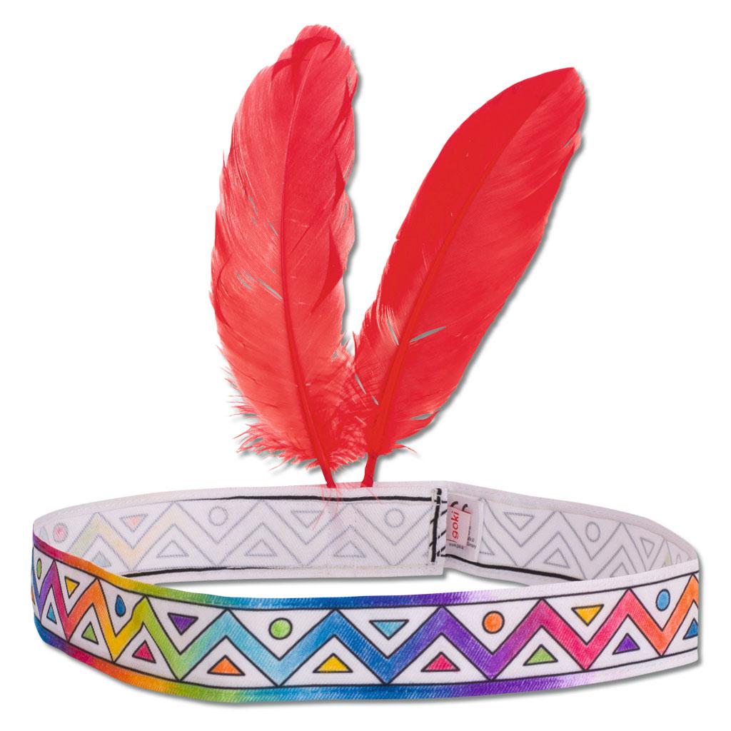 Indianerstirnband zum Anmalen