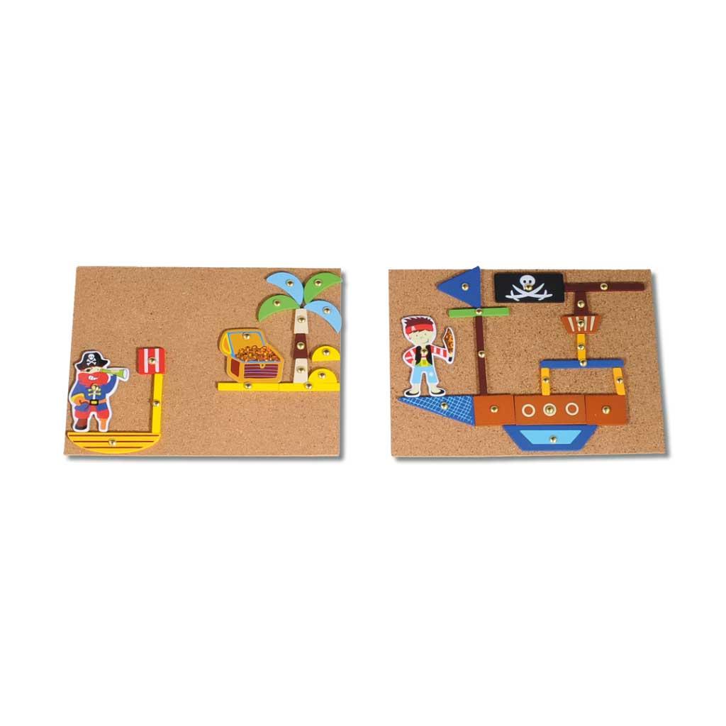 piraten hammerspiel f r kinder ab 3 wiemann lehrmittel. Black Bedroom Furniture Sets. Home Design Ideas