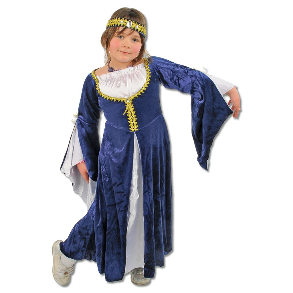 Kinderkostüm Burgfräulein