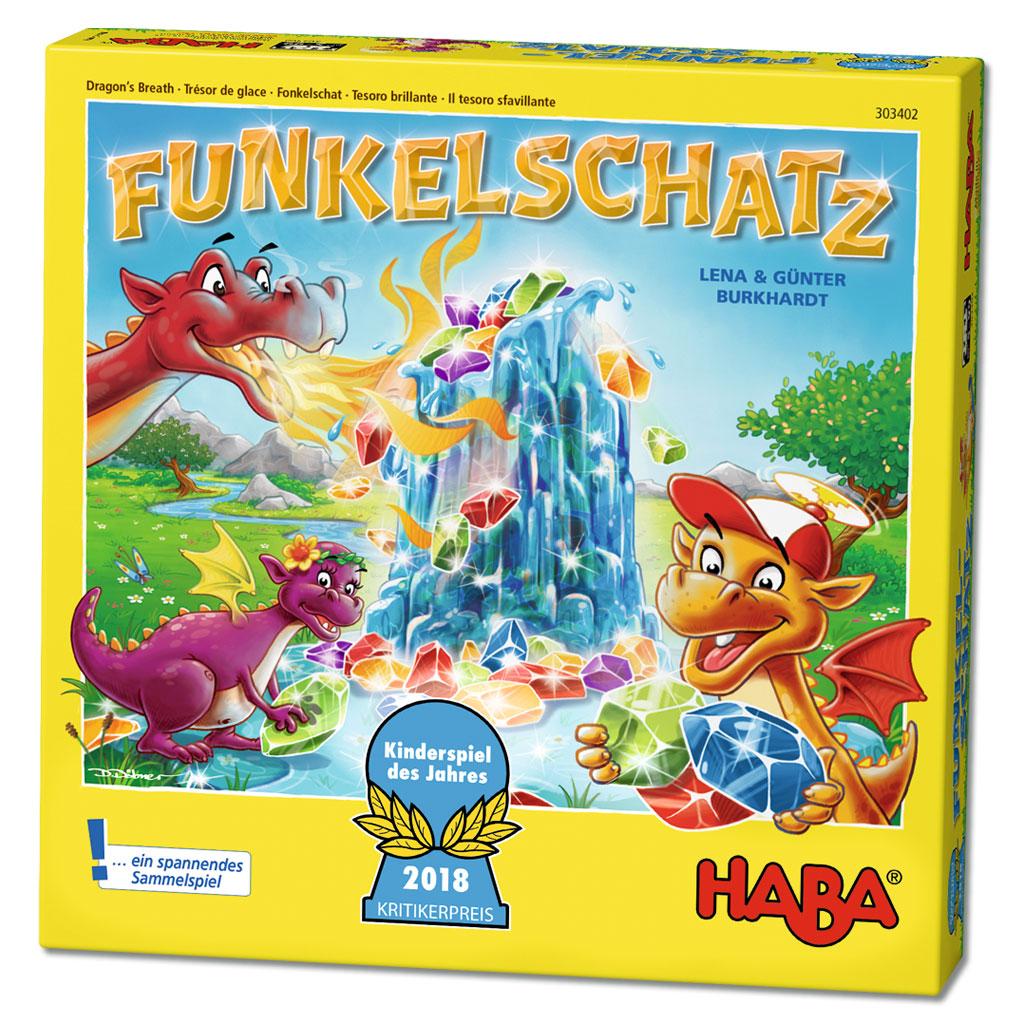 """HABA Drachenspiel """"Funkelschatz"""""""