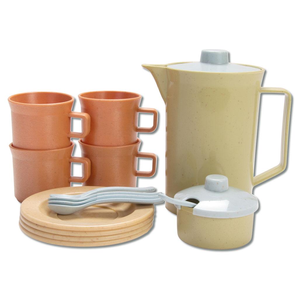 Kinder-Teeservice aus Bio-Kunststoff