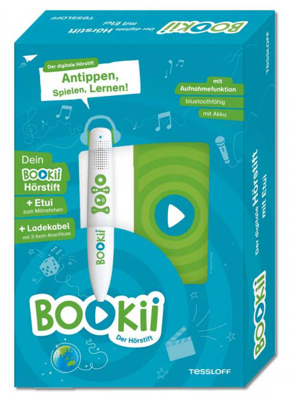 BOOKii Hörstift zum zu Hause Lernen