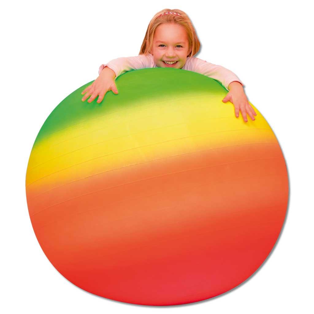 Großer Regenbogen-Gymnastikball