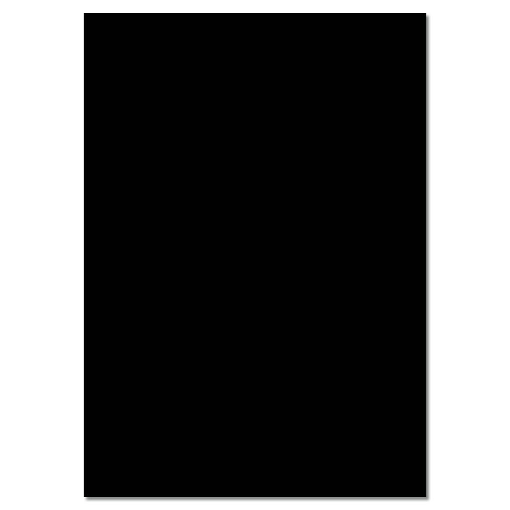 Tonzeichenpapier 130g/m² - schwarz