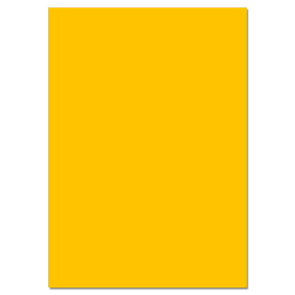 Tonzeichenpapier 130g/m² mais-/goldgelb