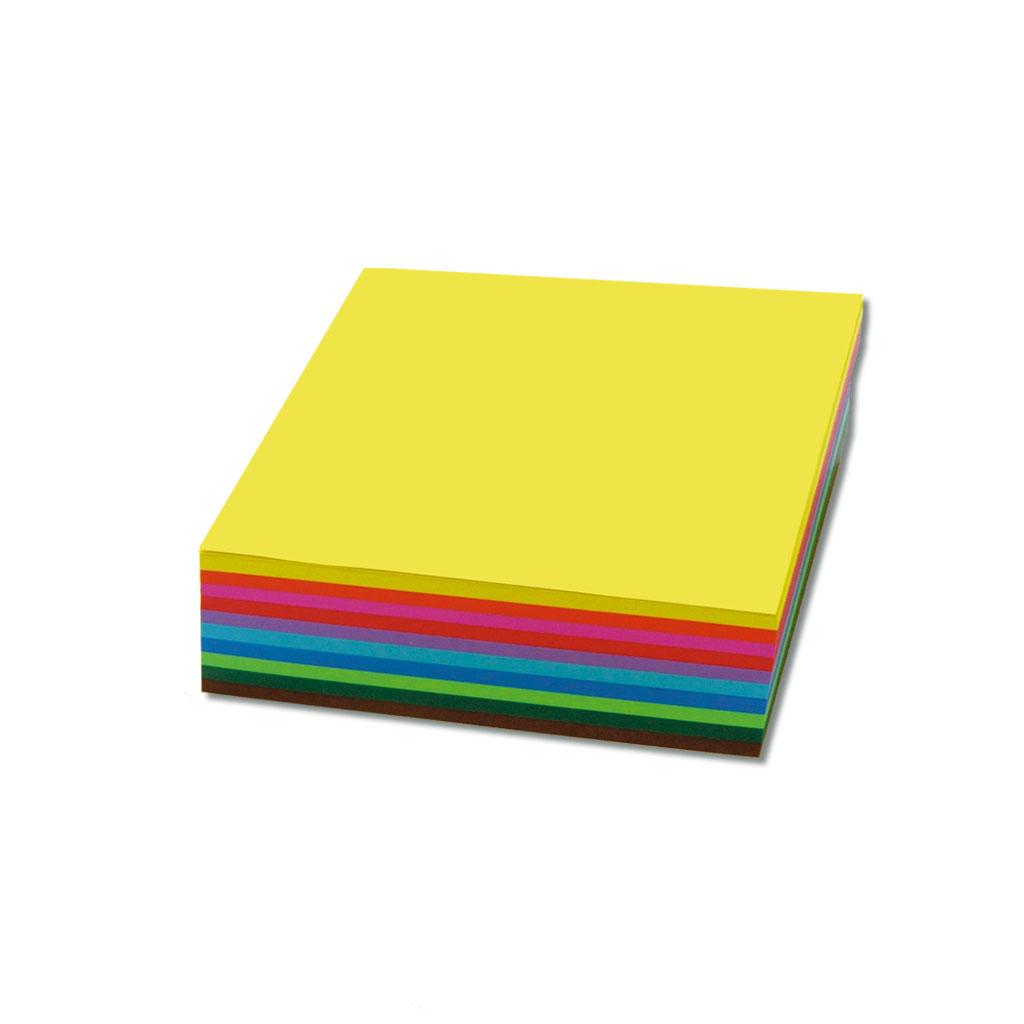 Faltblätter, Papier - quadratisch