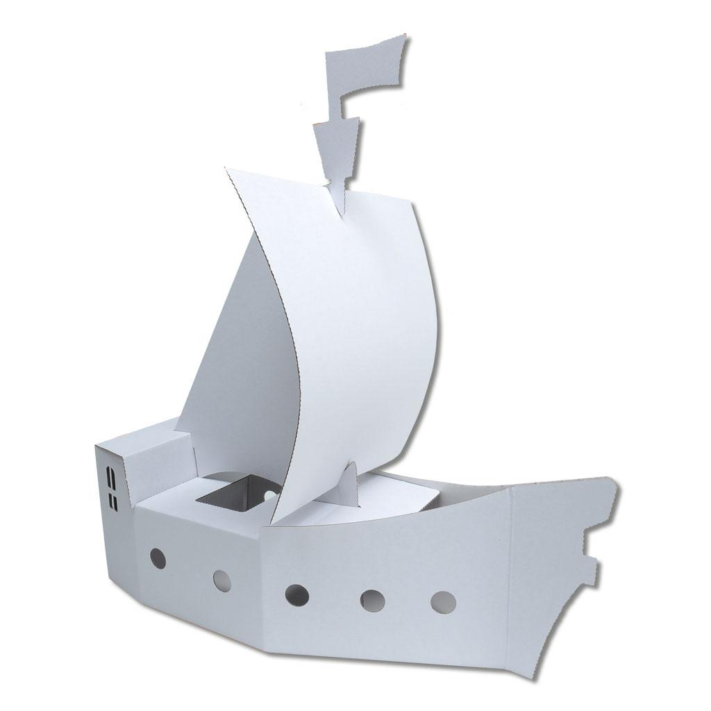 Blanko Piratenschiff