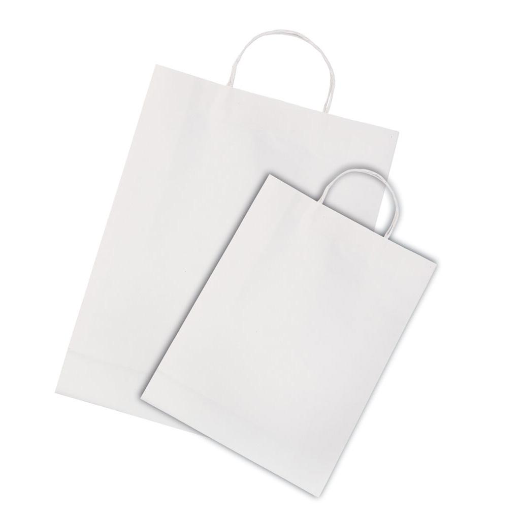 20 Papiertüten - weiß
