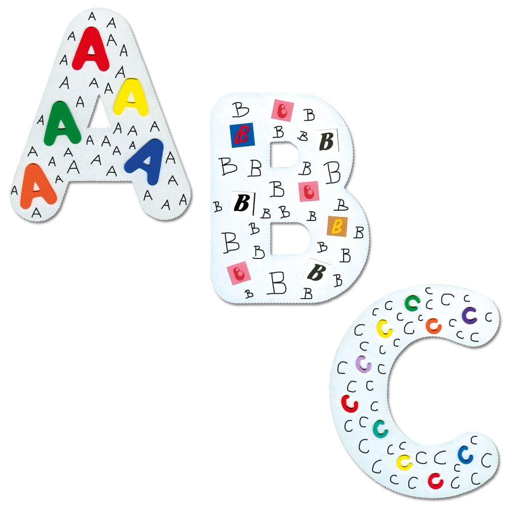Riesen-Großbuchstaben zum Selbstgestalten