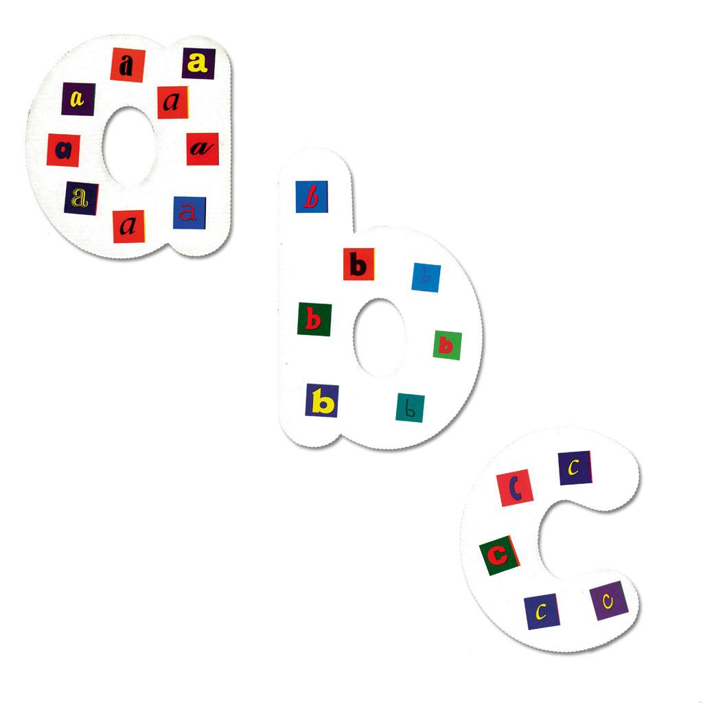 Riesen-Kleinbuchstaben zum Selbstgestalten - hier im WL Versand