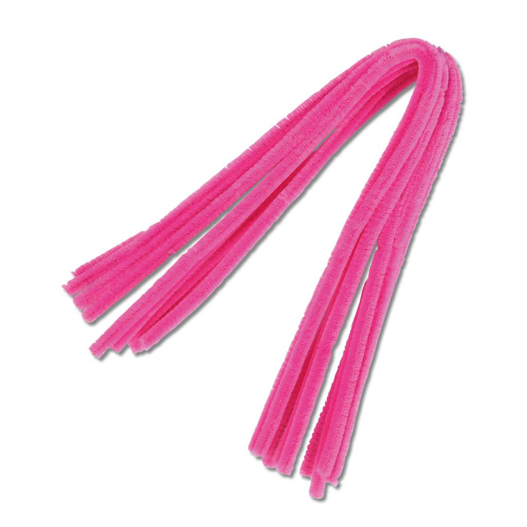 Chenille-Draht - pink