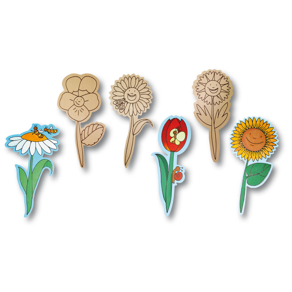 Garten-Blumen-Set