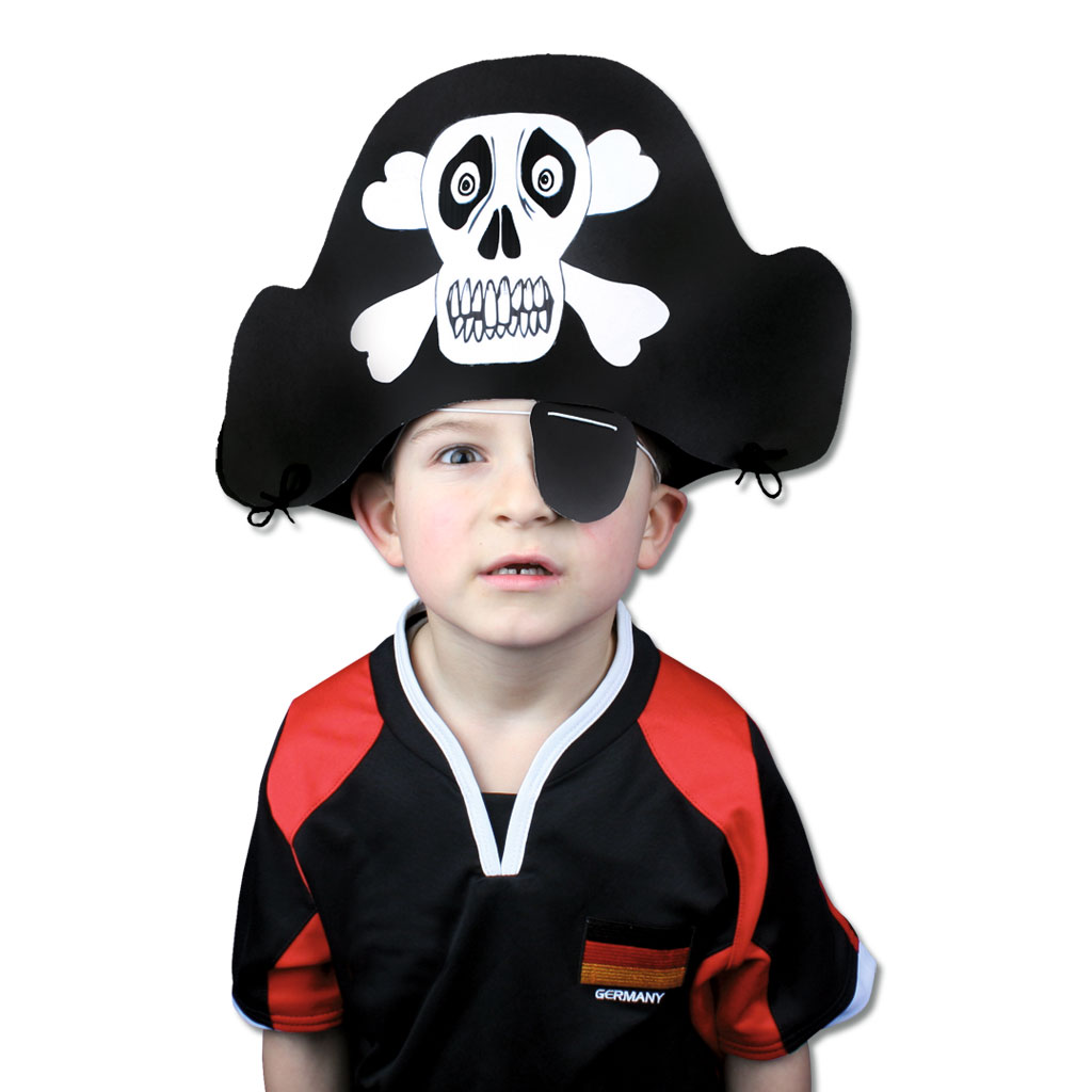 Piratenhüte - Bastelset