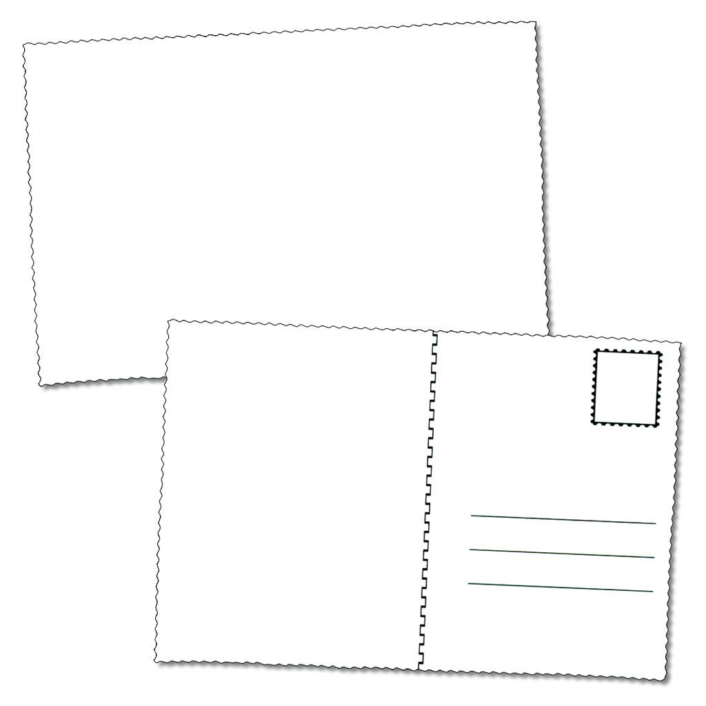 Tolle bastelideen in unserem onlineshop - Blanko postkarten ...