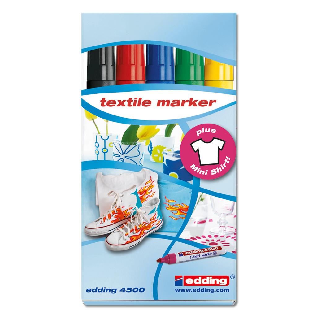 Edding T-Shirt Marker-Set