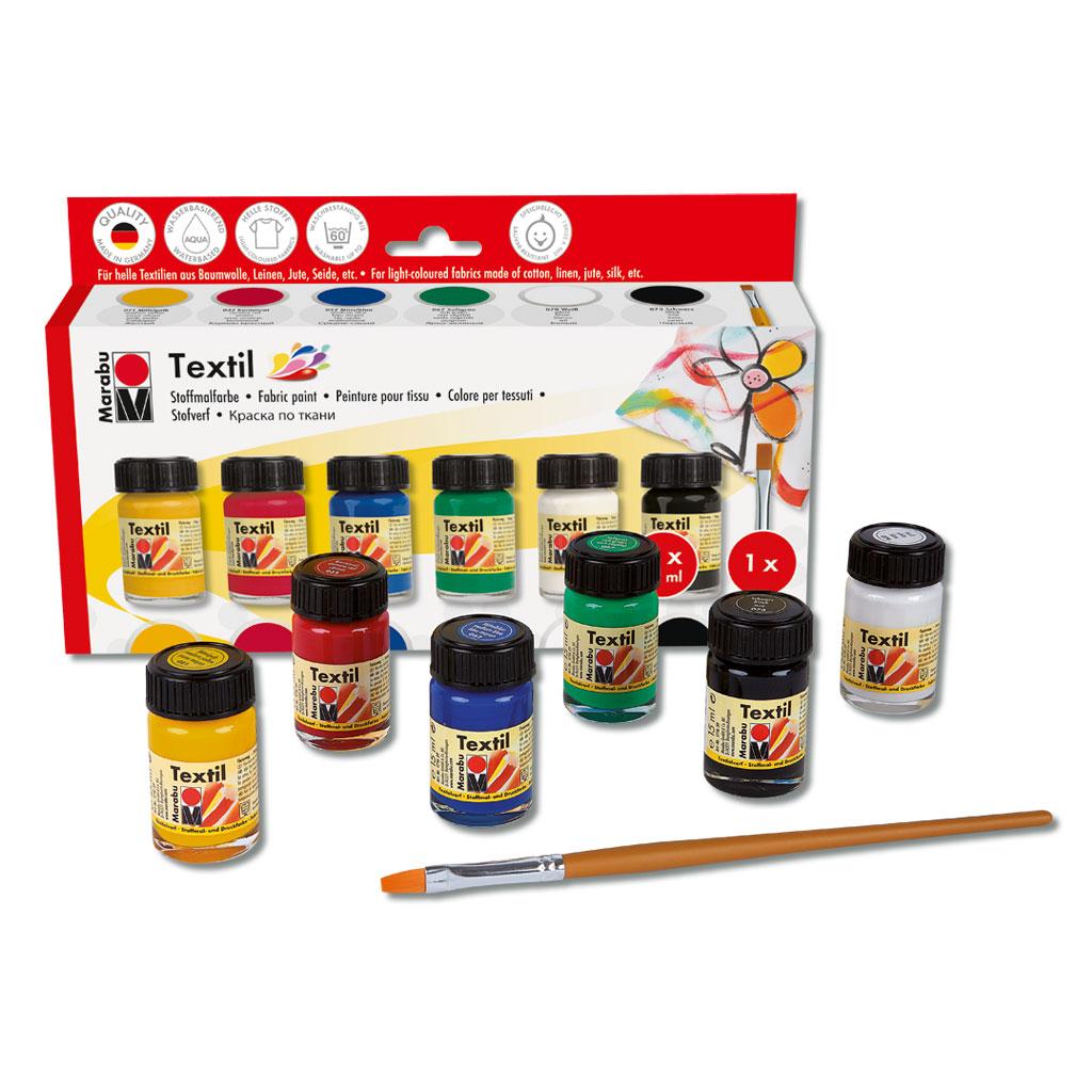 Marabu-Textil Grundfarbensortiment